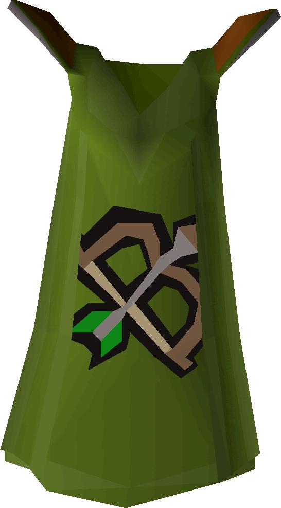 Ranging cape detail