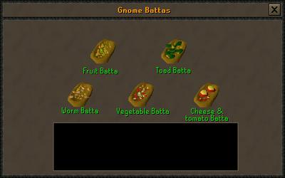 Gnome batta preparing interface