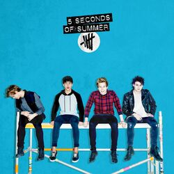 5 Seconds of Summer Target album blue