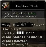 Fine Flame Wheels