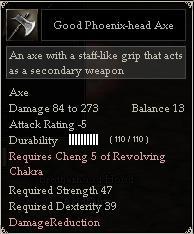 Good Phoenix-head Axe