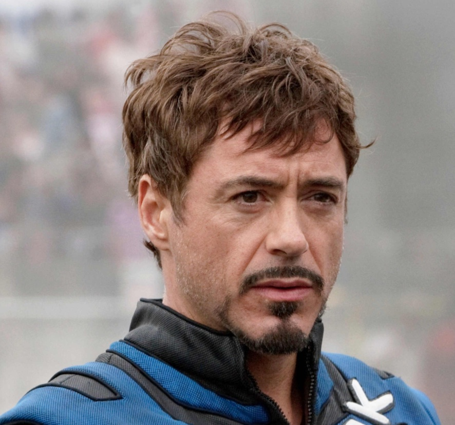 Robert Downey Jr Tony Stark Iron Man 3 Hairstyle Hair Is Our Crown