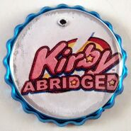 Kirby Abridged Blue Bottlecap