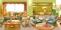 Corrida's hotel room