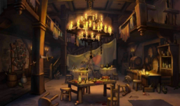 Tavern (night)