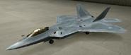 F-22A Soldier color hangar