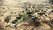 Mi-24VP Hind (front view)