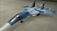 Su-34 Knight color hangar