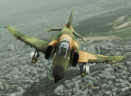 F-4E Normal Skin 01 Green MVP Flyby