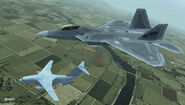 F-22A ACX Flyby 1