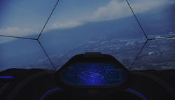 ADF-01 FALKEN Cockpit