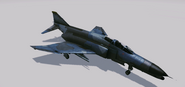 F-4G Blue Camo Skin Hangar