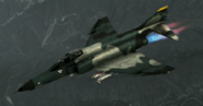F-4E Normal Skin 01 Gray Flyby 1