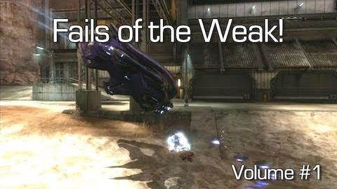 Fails of the Weak - Volume 1 (Funny Halo Reach Bloopers)