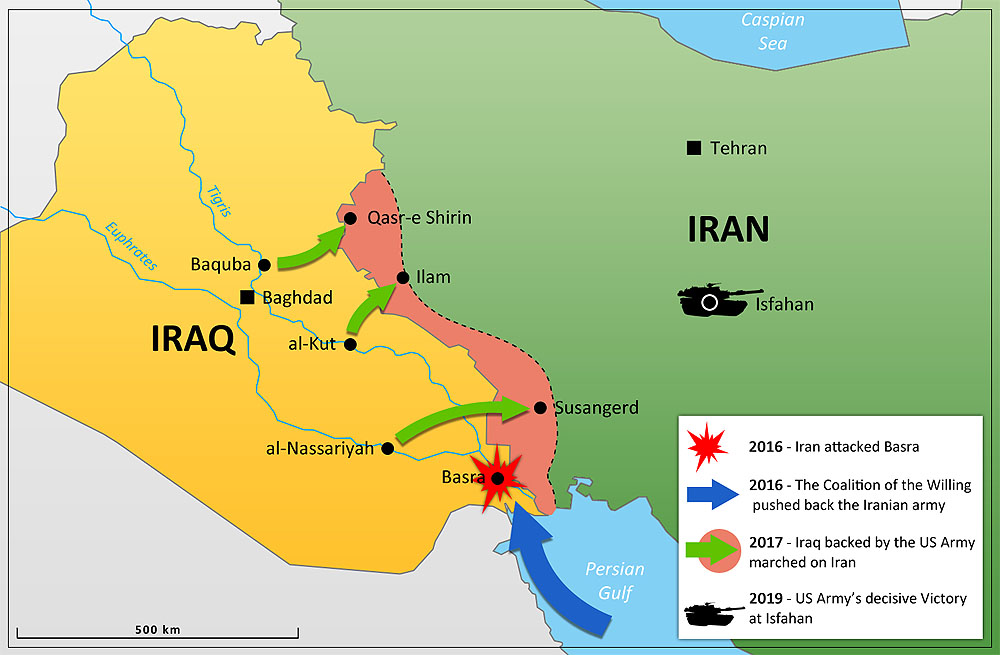 Persian War Act Of Aggression Wiki FANDOM Powered By Wikia - Map showing us and iraq