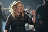Adele Singing (Live at the Royal Albert Hall)