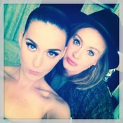 Katy Perry and Adele Selfie