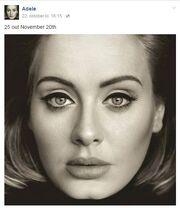 Adele reaffirming 25 date