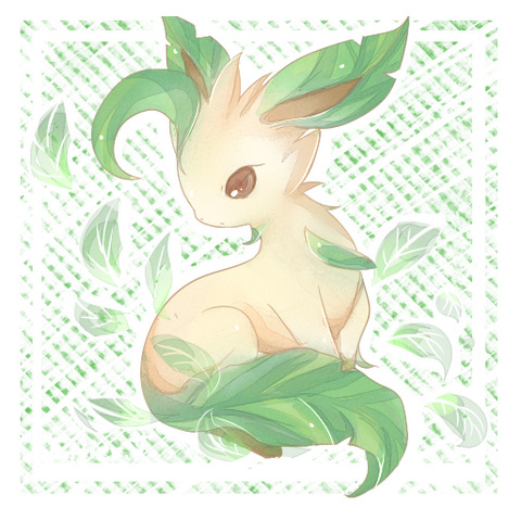 File:Leafeon by Effier sxy.png