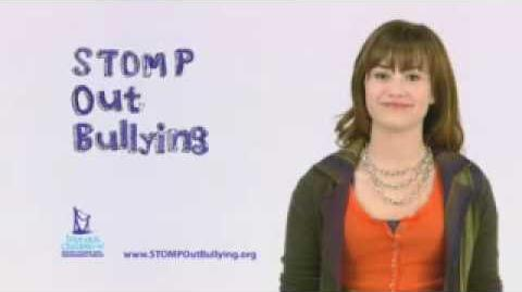Demi Lovato Stomp Out Bullying commercial