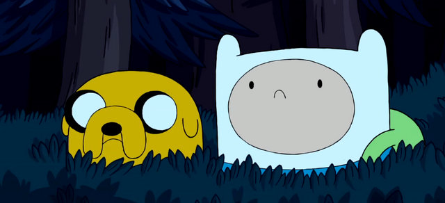 File:S3e3 Finn n Jake in bush.png