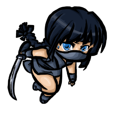 File:Chibi Ninja by hejthenerd.png