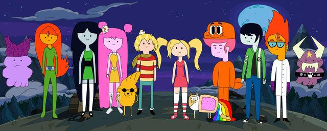 File:Adventure time halloween by zenzatsionen-d5ju7ys.jpg