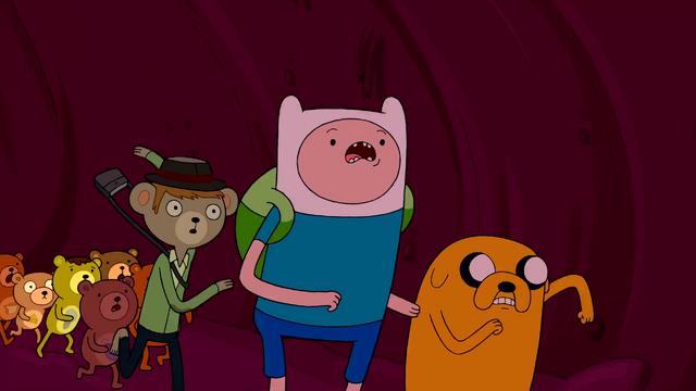 File:S2e21 Finn, Jake and bears running.png