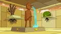 S4 E20 Castle Lemongrab fountain.PNG