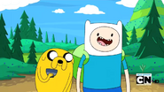 S2e13 Finn and Jake excited for quest