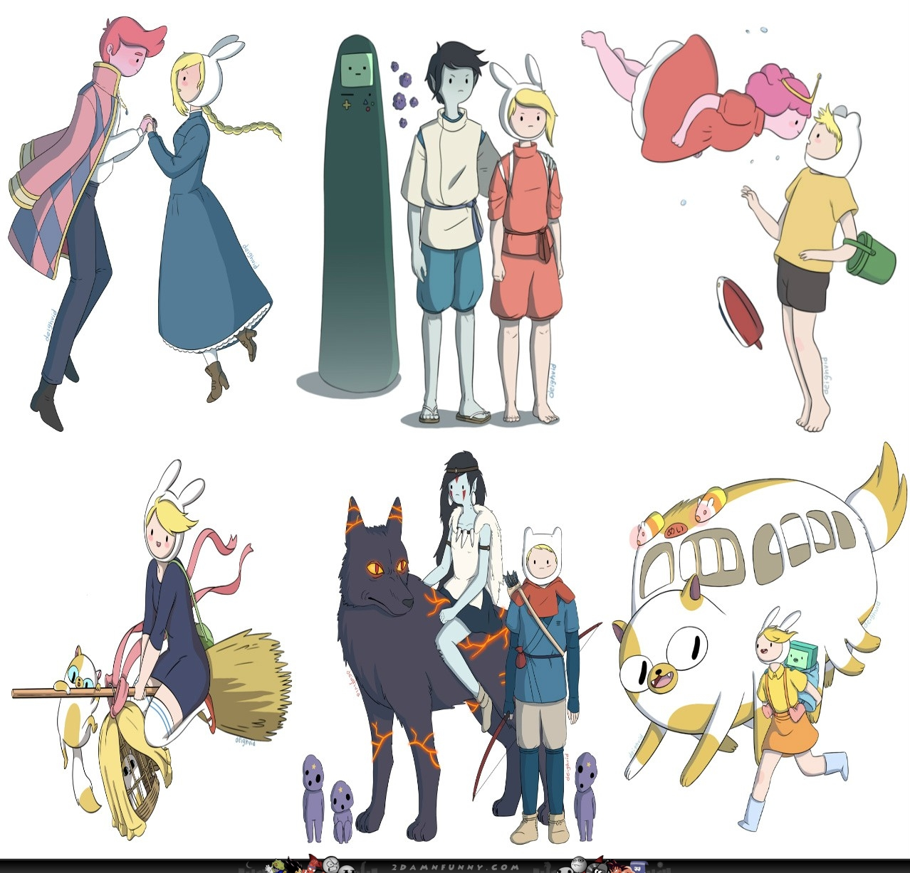 wiki list adventure time characters