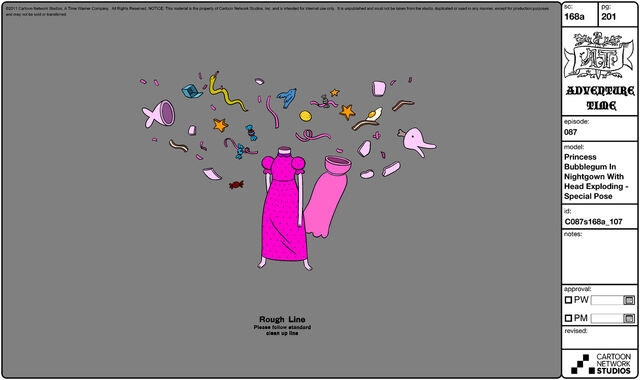 File:Modelsheet princessbubblegum innightgown withheadexploding - specialpose.jpg