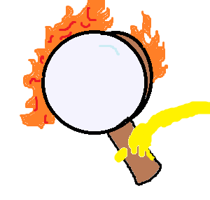 File:Flaming magnifying glass.png