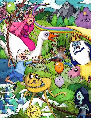 File:Adventure time 3 by fred weasley.jpg