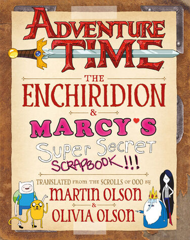 File:Adventure Time Enchiridion & Marcy's Scrapbook.jpg