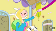 S3e9 Fionna taking Gumball's hand