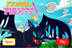 Fionna Fights title screen