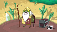 S2e13 Gnome Knight as a frog