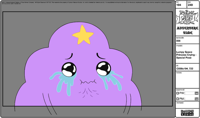File:Modelsheet Lumpy Space Princess Crying - Special Pose.png