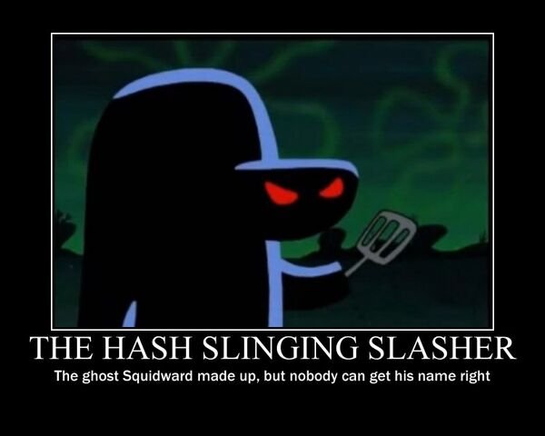 File:The hash slinging slasher poster by ict1099-d4mp0ad.jpg