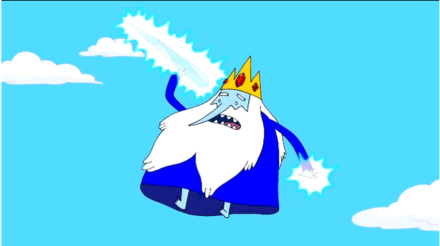 File:S5 e30 Ice King about to throw icecicle at FP.PNG