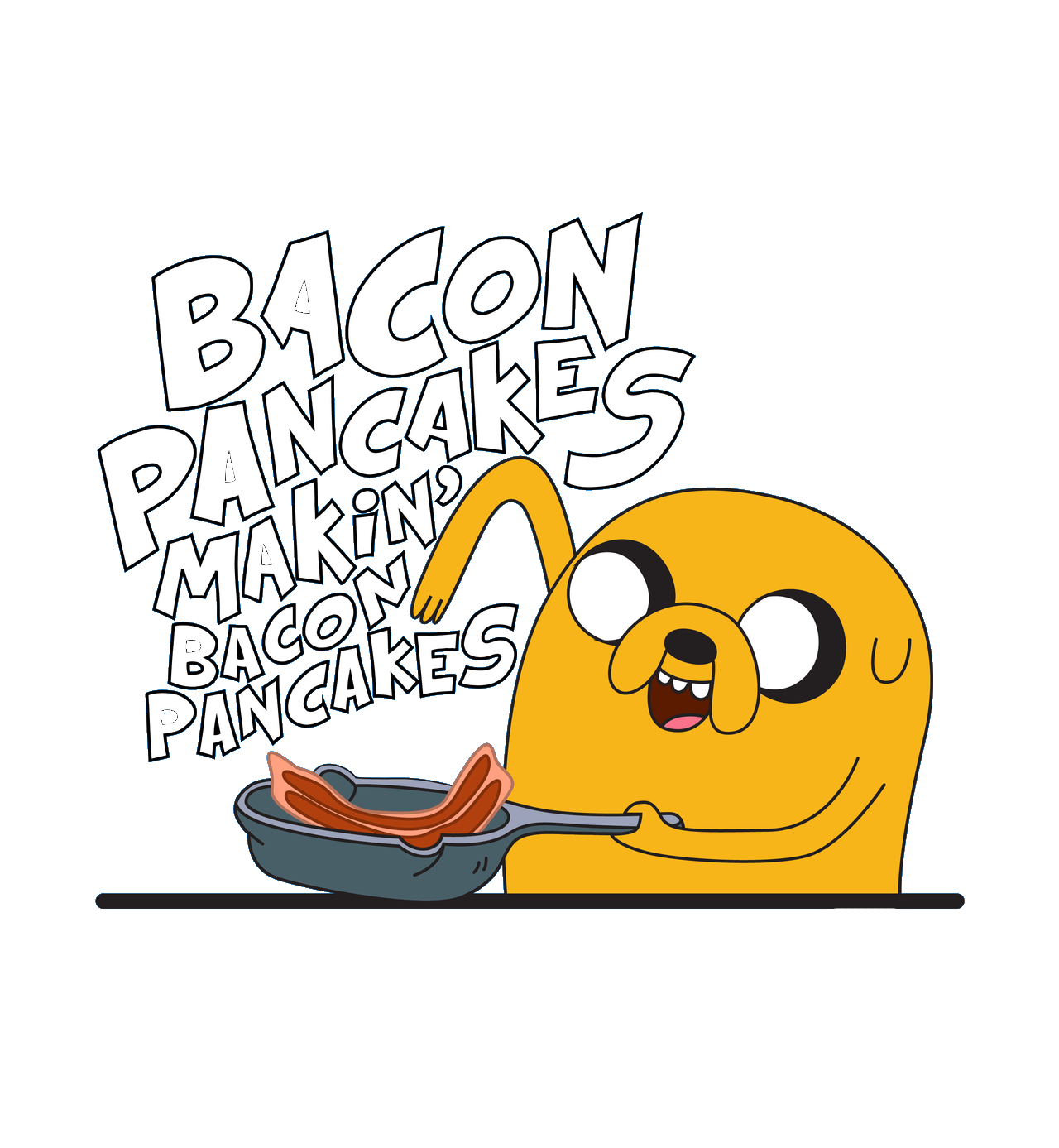 Image result for Bacon PAncakes makin bacon pancakes