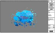 Modelsheet icebull - shattered