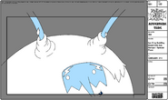 Modelsheet Ice King Swirling Beard into Ear Bumps - Special Pose