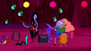 S1e12 Marceline playing bass
