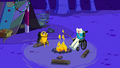 S3e15 Finn and Jake sitting by the fire.png