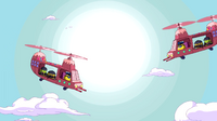 S4 E13 candy helicopters