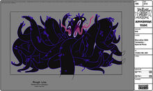 Modelsheet marceline withtentacles - specialpose