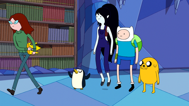 File:S5e48 Betty, Gunter, Marceline, Finn, and Jake.png