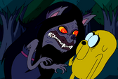 Marceline and jake